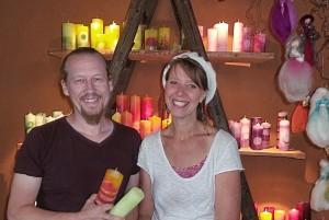 Kathrin Jung und Mike Reinberger