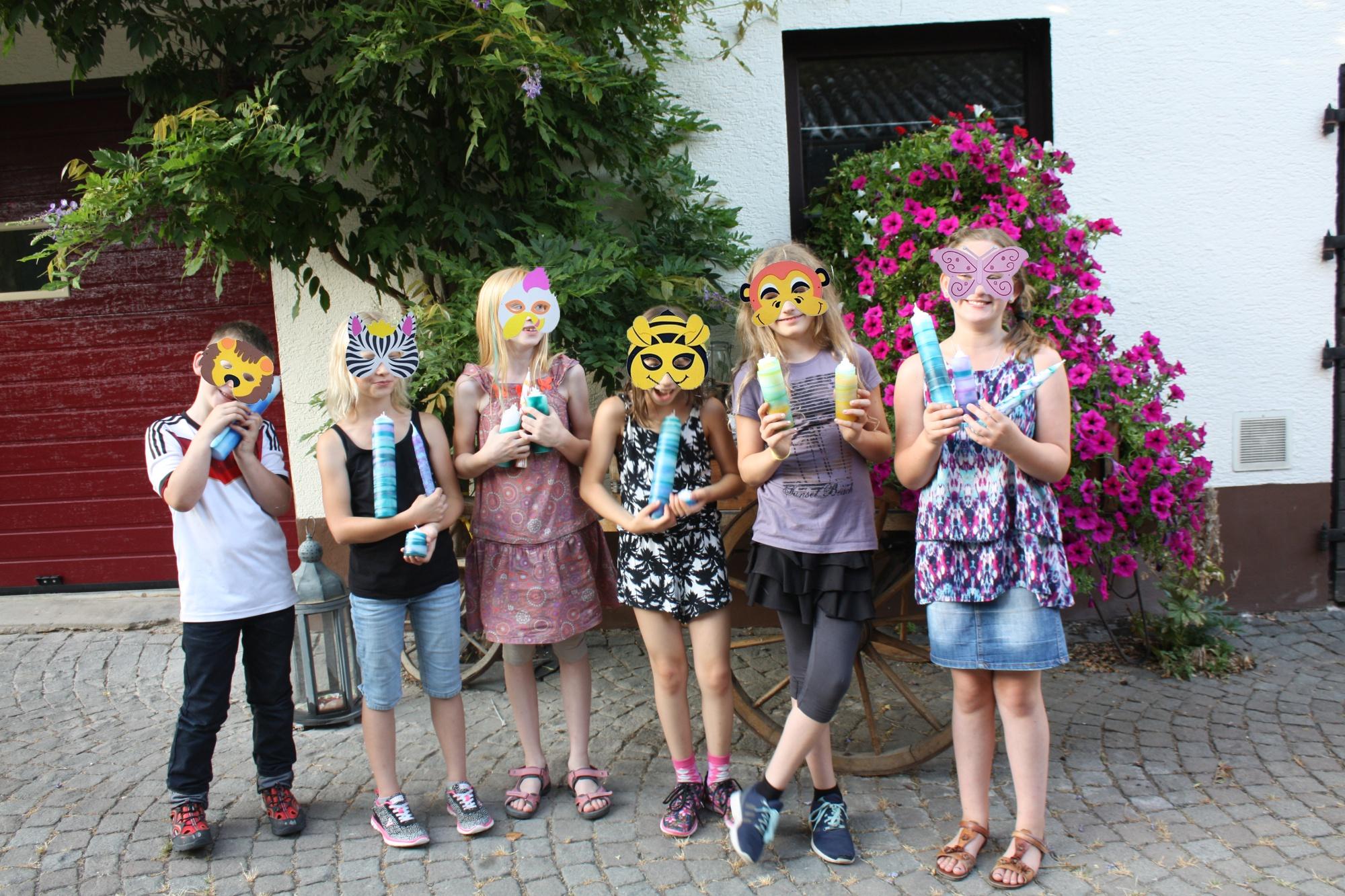 Masken für Fotos